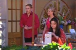 Boyd Hoyland, Janae Timmins in Neighbours Episode 4878