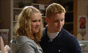 Janae Timmins, Boyd Hoyland in Neighbours Episode 4893