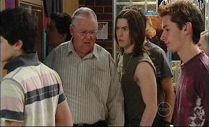 Harold Bishop, Dylan Timmins in Neighbours Episode 4911
