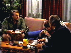 Doug Willis, Pam Willis, Jim Robinson in Neighbours Episode 1408
