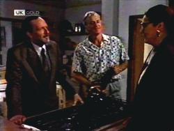 Colin Burke, Jim Robinson, Dorothy Burke in Neighbours Episode 1408