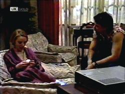 Melanie Pearson, Joe Mangel in Neighbours Episode 1408