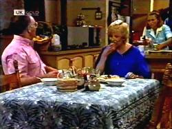 Harold Bishop, Madge Bishop, Gemma Ramsay in Neighbours Episode 1409