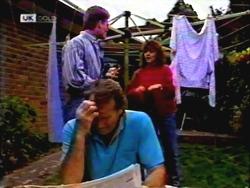 Adam Willis, Pam Willis, Doug Willis in Neighbours Episode 1409