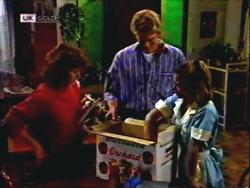 Pam Willis, Adam Willis, Gemma Ramsay in Neighbours Episode 1409