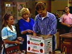 Gemma Ramsay, Madge Bishop, Adam Willis, Harold Bishop in Neighbours Episode 1409