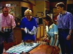 Harold Bishop, Madge Bishop, Gemma Ramsay, Adam Willis in Neighbours Episode 1409
