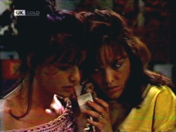 Caroline Alessi, Christina Robinson in Neighbours Episode 1409