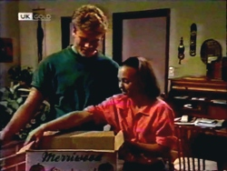 Adam Willis, Gemma Ramsay in Neighbours Episode 1410