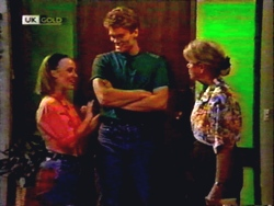Gemma Ramsay, Adam Willis, Helen Daniels in Neighbours Episode 1410