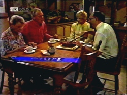 Helen Daniels, Jim Robinson, Madge Bishop, Harold Bishop in Neighbours Episode 1410