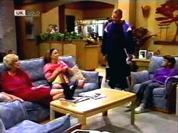 Madge Bishop, Gemma Ramsay, Harold Bishop, Toby Mangel in Neighbours Episode 1411