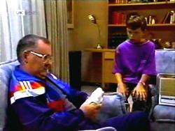 Harold Bishop, Toby Mangel in Neighbours Episode 1411