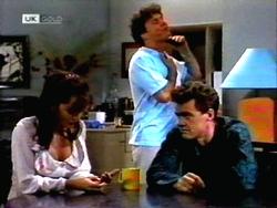 Caroline Alessi, Phil Hoffman, Paul Robinson in Neighbours Episode 1412