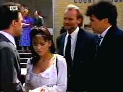 Paul Robinson, Caroline Alessi, Alan Stewart, Phil Hoffman in Neighbours Episode 1412