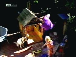 Bouncer, Joe Mangel, Sky Bishop in Neighbours Episode 1412