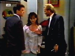 Paul Robinson, Caroline Alessi, Alan Stewart in Neighbours Episode 1412