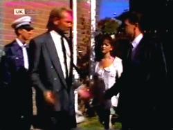 Alan Stewart, Caroline Alessi, Paul Robinson in Neighbours Episode 1412