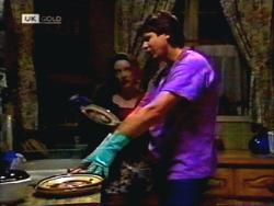 Melanie Pearson, Joe Mangel in Neighbours Episode 1412