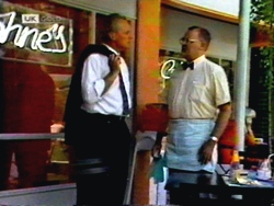 Jim Robinson, Harold Bishop in Neighbours Episode 1413