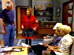 Jim Robinson, Melanie Pearson, Helen Daniels, Rosemary Daniels in Neighbours Episode 1414