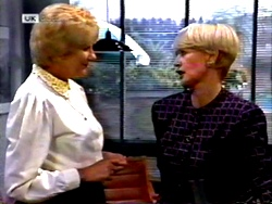Madge Bishop, Rosemary Daniels in Neighbours Episode 1414