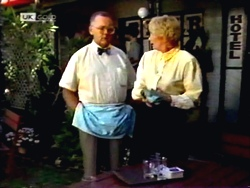 Harold Bishop, Madge Bishop in Neighbours Episode 1414