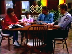 Pam Willis, Cody Willis, Doug Willis, Adam Willis in Neighbours Episode 1414