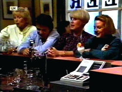 Madge Bishop, Joe Mangel, Rosemary Daniels, Melanie Pearson in Neighbours Episode 1414