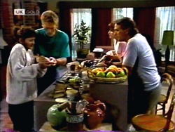 Pam Willis, Adam Willis, Cody Willis, Doug Willis in Neighbours Episode 1415