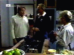 Doug Willis, Jim Robinson, Helen Daniels in Neighbours Episode 1416