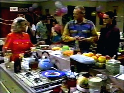 Helen Daniels, Jim Robinson, Dorothy Burke in Neighbours Episode 1416