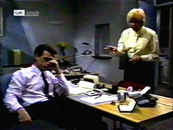 Paul Robinson, Madge Bishop in Neighbours Episode 1417