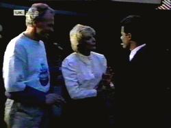 Jim Robinson, Madge Bishop, Paul Robinson in Neighbours Episode 1417
