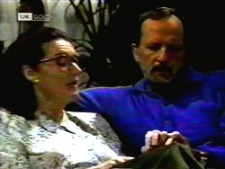 Dorothy Burke, Colin Burke in Neighbours Episode 1419