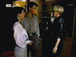 Christina Alessi, Paul Robinson, Rosemary Daniels in Neighbours Episode 1419