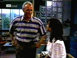Jim Robinson, Christina Alessi in Neighbours Episode 1420