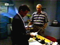Paul Robinson, Jim Robinson in Neighbours Episode 1420