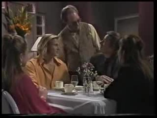 Lucy Robinson, Brad Willis, Waiter, Rod Baker, Beth Brennan in Neighbours Episode 1703