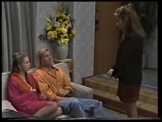 Lucy Robinson, Brad Willis, Beth Brennan in Neighbours Episode 1703