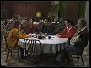 Doug Willis, Pam Willis, Paul Robinson, Marco Alessi, Dorothy Burke, Jim Robinson in Neighbours Episode 1703