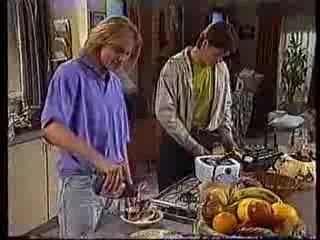 Brad Willis, Cameron Hudson in Neighbours Episode 1779