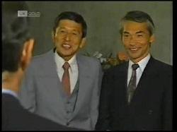 Mr Kitamura, Mr Takahashi in Neighbours Episode 1925