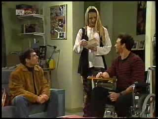 Mark Gottlieb, Phoebe Bright, Stephen Gottlieb in Neighbours Episode 1994