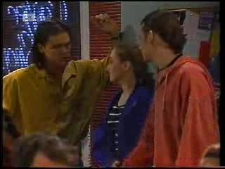 Wayne Duncan, Debbie Martin, Darren Stark in Neighbours Episode 1994