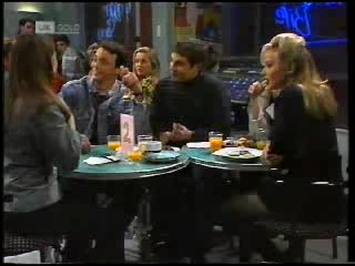 Beth Brennan, Stephen Gottlieb, Lauren Carpenter, Mark Gottlieb, Annalise Hartman in Neighbours Episode 1994