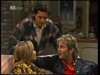 Rick Alessi, Lauren Turner, Connor Cleary in Neighbours Episode 1995