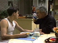 Rick Alessi, Lou Carpenter in Neighbours Episode 2001
