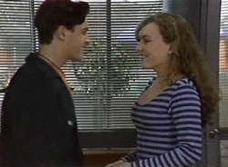 Rick Alessi, Debbie Martin in Neighbours Episode 2001