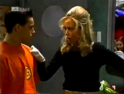 Rick Alessi, Annalise Hartman in Neighbours Episode 2002